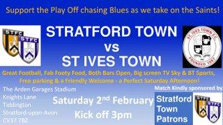 St Ives H Fixture 02/02/19