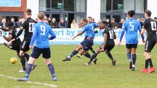 Stratford Town v Rushall Olympic pics by Granty