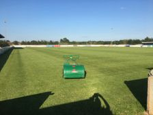 Supporters Association supply club with quality pitch mower