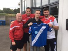 New Signing;  Ivor Lawton joins the Blues