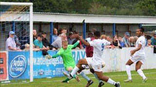 Town beat the Villa at a packed Arden Garages Stadium