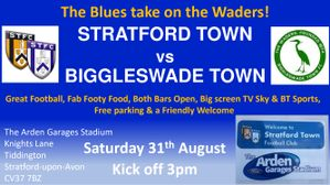 Up next: Biggleswade Town this Saturday 31st August KO 3pm