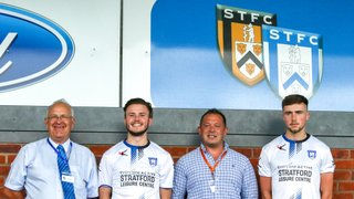 Stratford Leisure Centre become Town kit sponsor!
