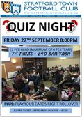 Quiz Night Tonight at the club starts 8pm!