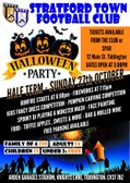 Tonight's our Big Halloween, Bonfire & Fireworks Party! Gates Open from 5pm