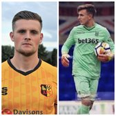 Double signing! Kyle Rowley & Mitch Allen sign for Town