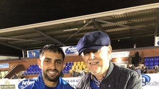 Marstons Man of the Match vs Wolves Ravi Shamsi