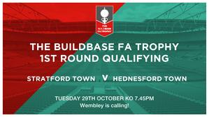 FA TROPHY MATCHNIGHT! vs Hednesford Town  KO 7.45pm