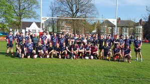 CHARITY MATCH - £835 raised for LAS