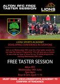ARFC Age Grade Pre-Season FREE Taster Session