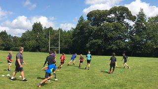 Very Successful London Irish Camp at ARFC