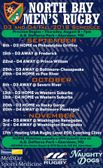 Men's Fall 2018 Schedule