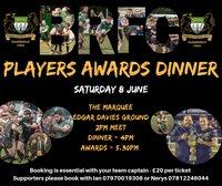 Senior Players Awards Dinner