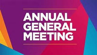 AGM - Friday 30th August