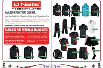 New O'Neil's Kit for 2013/14