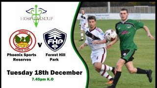 Phoenix Sports Reserves v Forest Hill Park