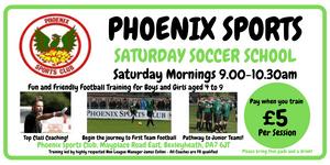 Phoenix Sports Saturday Soccer School