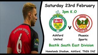 Ashford United v Phoenix Sports