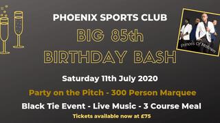 Phoenix Sports Club 85th Birthday Celebrations!