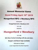 Annual memorial game v Hungerford RFC