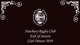 Club Dinner - Fri 17 May 2019