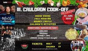 Cauldron Cook off (Newbury)