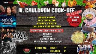 Cauldron Cook off (Newbury)