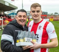 "WITTON ALBION ""PLAYER OF THE MONTH"" - FEBRUARY"