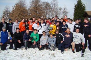 Boys Snow Practice 2011