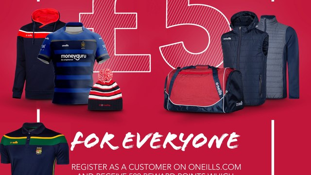O'NEILL'S FRUFC Badged Sportswear