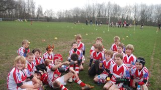 U9's on tour against Sedgley Park and Waterloo 11-3-12