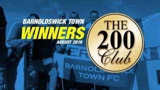 200 CLUB AUGUST WINNERS!