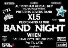 Band Night - XL5 - Sat 22 Feb