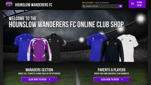 Wanderers Online Clubshop Open for Business