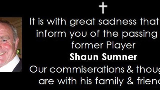 R.I.P Shaun Sumner...update arrangements!