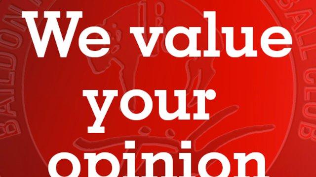 Baildon RUFC Member Questionnaire