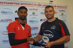 Jose Scoops Touch Rugby League RJM Medal