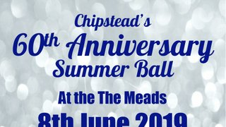 Chipstead RFC - 60th Anniversary Summer Ball