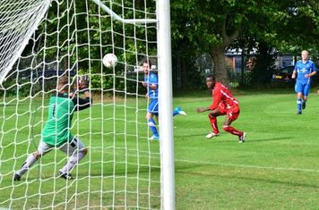 Meridian keeper st his best, great save and distance on clearance!