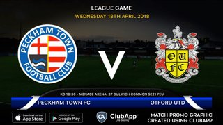 PTFC VS Otford United