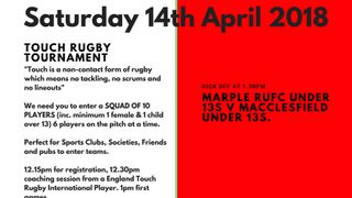 Marple Festival of Sport - 14th April 2018.