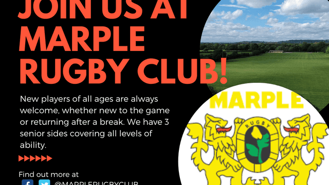 Join us at Marple Rugby Club