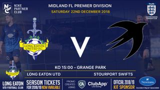 GAME ON - Today's 3pm kick off v Stourport Swifts at Grange Park is on