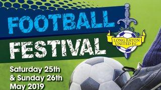 Places are still available for our Annual U7/U8/U9 & U10 Football Festival