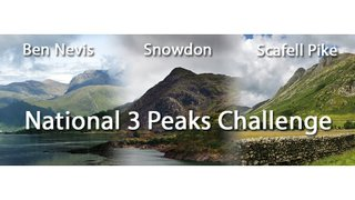 Help support our team undertaking the National 3 Peaks 24 hour Challenge on Thursday !!!