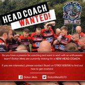 Head Coach Wanted!