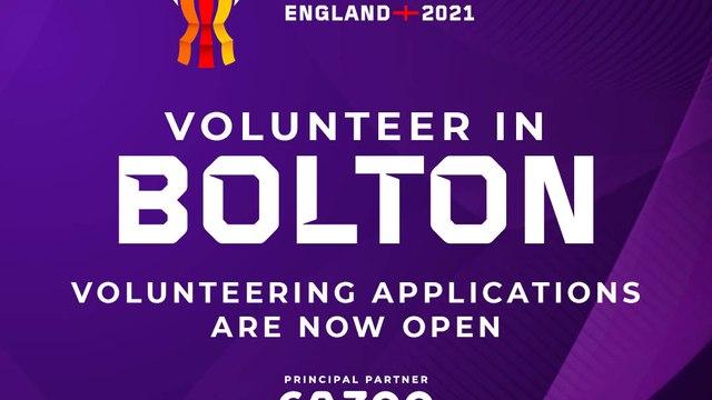 Volunteering At RLWC2021