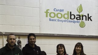 Corries Charity collection for local community.