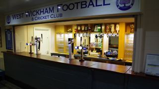 WWFC New Bar and Kitchen up and running