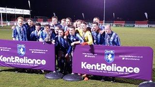 WWFC 2's Kent Intermediate Cup Final Winners
